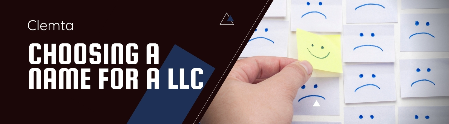 Choosing a name for your Limited Liability Company
